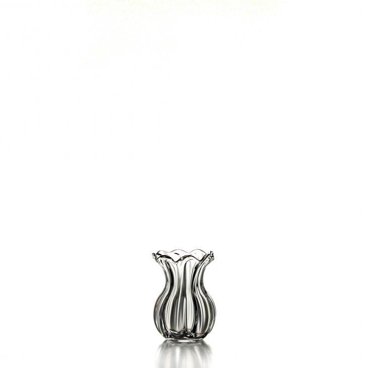 Simon Pearce Chelsea Optic Posy Vase