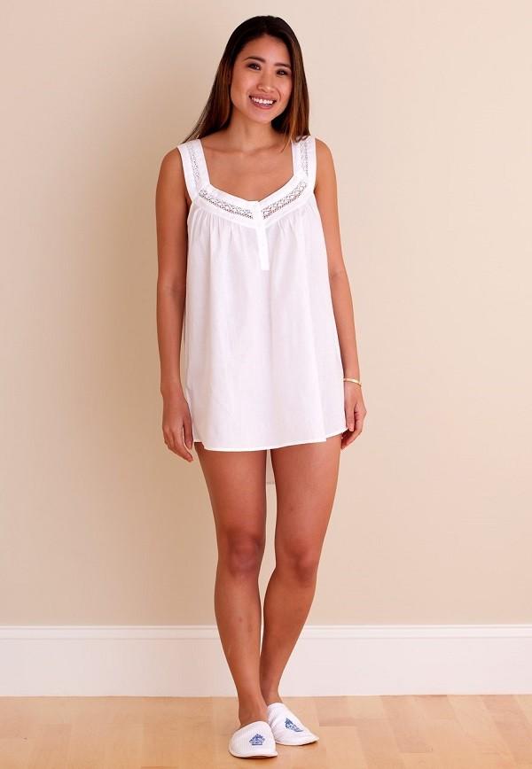 Jacaranda Living White Cotton Nightgown El270 Charlotte