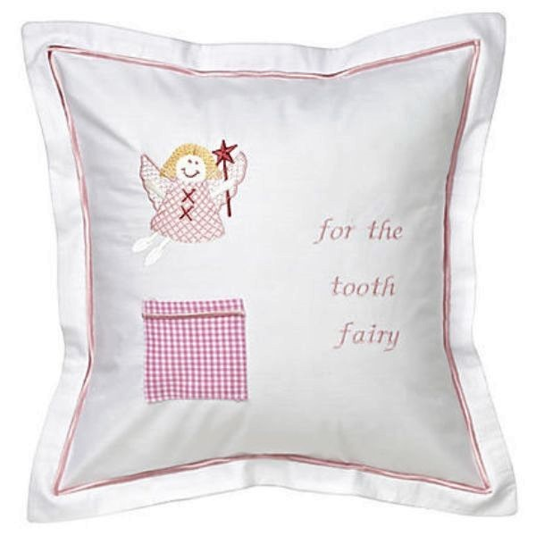 Tooth Fairy Pillow Pink